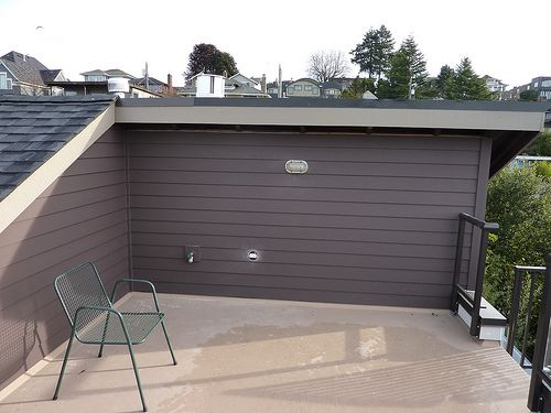 11 best images about sab 39 s garage on pinterest for Flat roof garage with deck plans