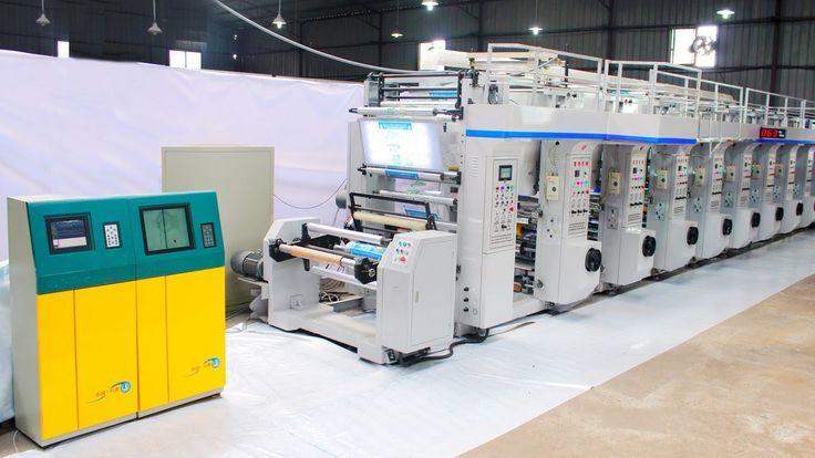 8 Color Rotogravure Printing Machine