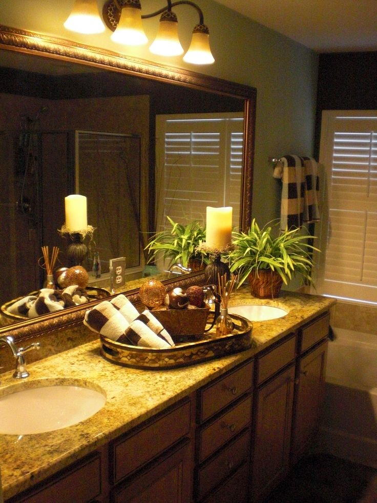 Pin by lisa watts on home ideas pinterest for Staging bathroom ideas
