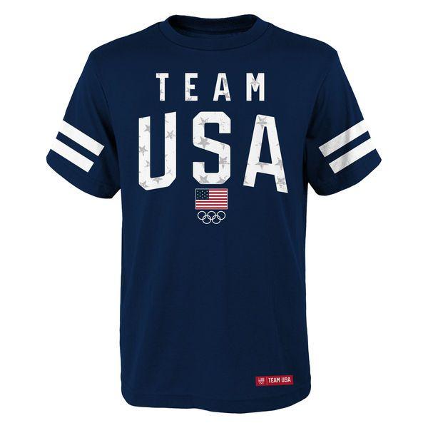 Team USA Youth Star Team T-Shirt - Navy - $21.99