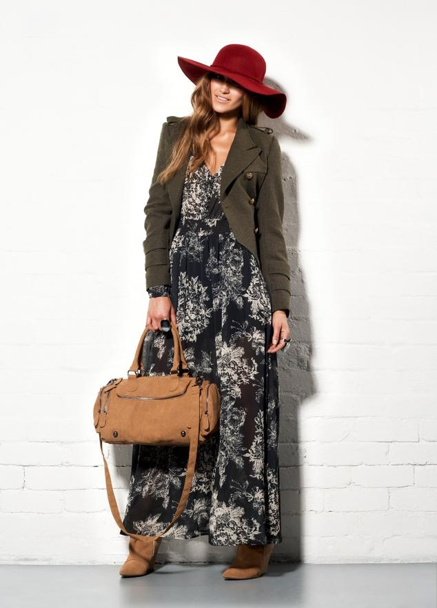 winter maxi dress #winter #maxi #wintermaxi