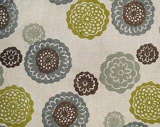 Zinnia Fabric by Galbraith and Paul in Sky - Contemporary - Upholstery Fabric - by Galbraith & Paul