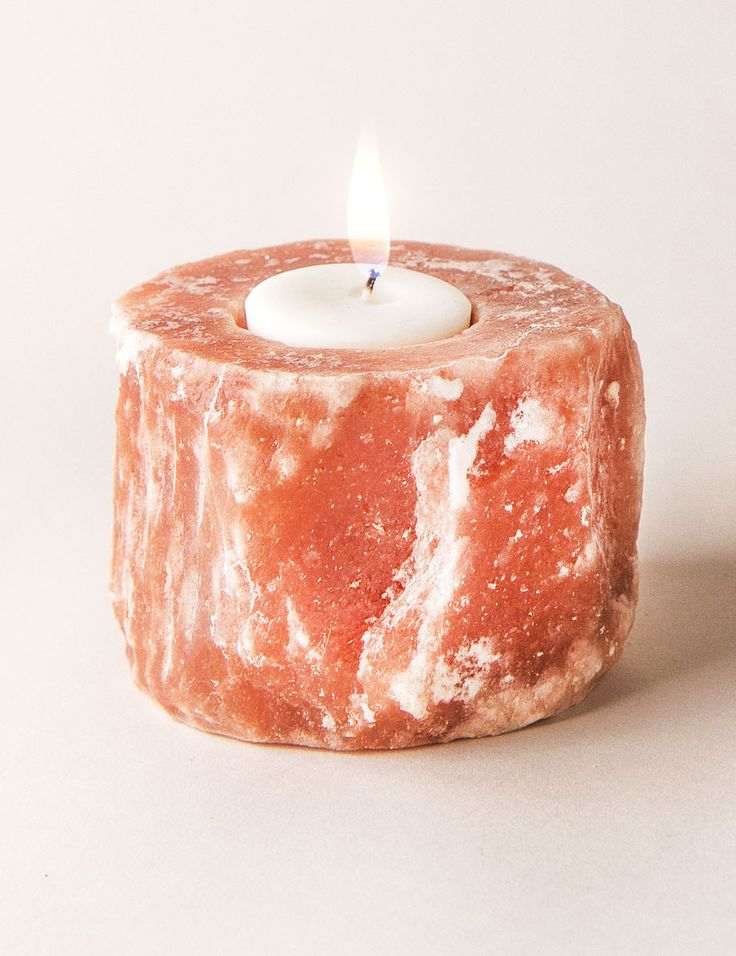 The 25+ best Himalayan salt candle holder ideas on ...