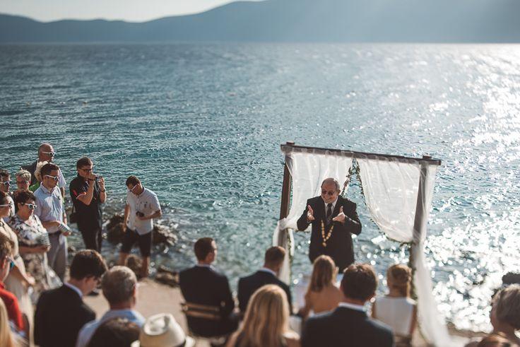 A Pinezici Beach Croatia Destination Wedding