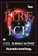 Fire And Ice Cool burning incense Designed to stimulate the mind and body    Gentle euphoric effect