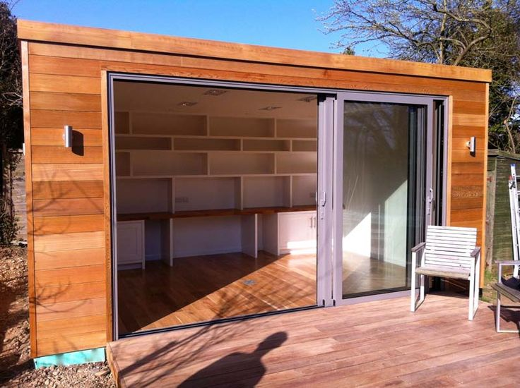 Cedar Clad Garden Office Small And Cozy Spaces