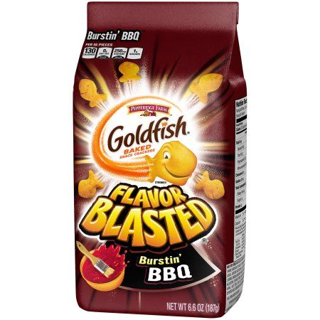 Free Shipping. Buy Pepperidge Farm® Goldfish® Flavor Blasted® Burstin' BBQ Baked Snack Crackers 6.6 oz. Stand-Up Bag at Walmart.com