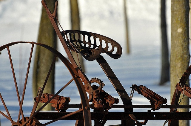 Old Farm Equipment by JEKnudson Photography