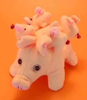 Piggy Family (007023)