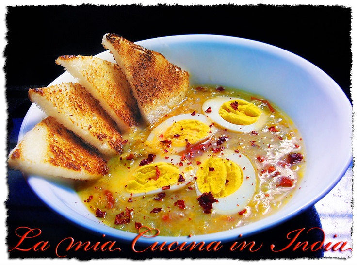 zuppa di lenticchie [masùr]