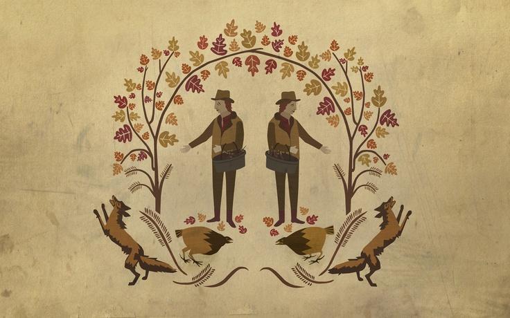 Autumnal desktop wallpaper by adam hancher