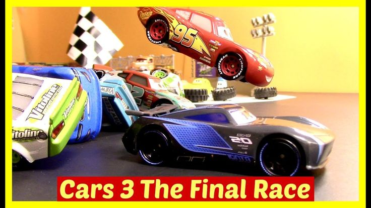 Disney Cars 3 Toy Collection McQueen Accident Toy Cars Racing McQueen Ja...