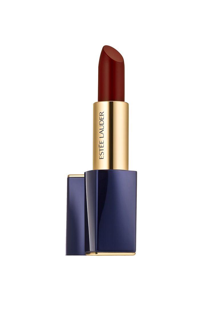 Pure Color Envy Matte Sculpting Lipstick in Commanding - Joan Smalls On Her Lipstick Collection For Estée Lauder (Vogue.co.uk)