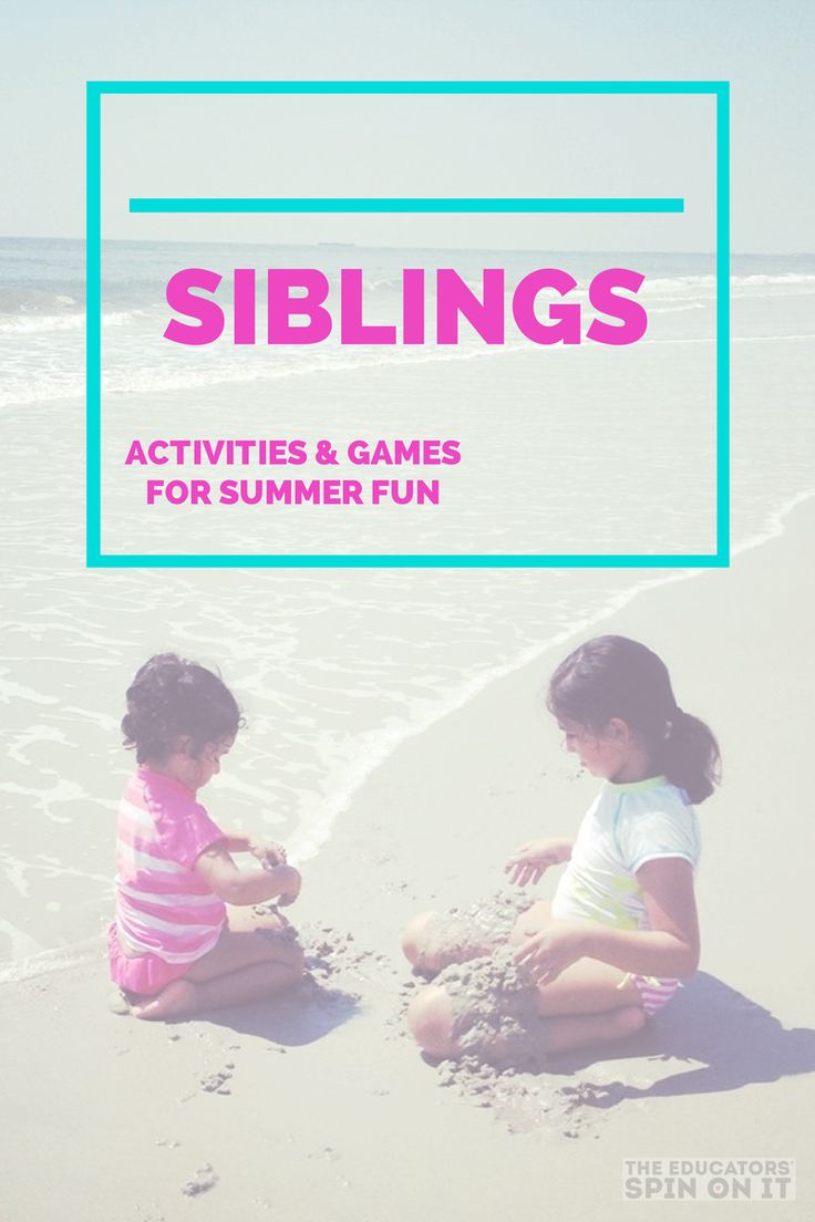 Sibling Activities and Games