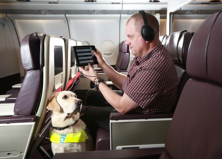Virgin Atlantic has become the first airline to offer entertainment catered  to visually impaired passengers.