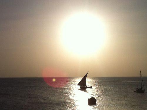 Zanzibar - Romantic Sunset (photo by Dino Caprara)