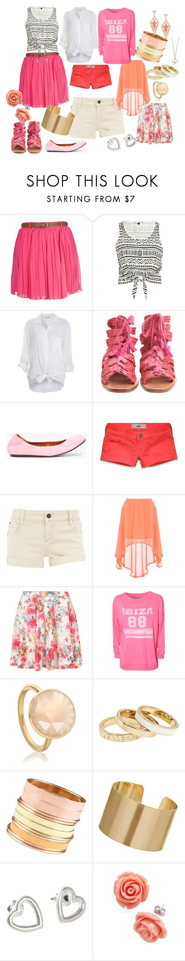 """""""Whitney"""" by corsola ❤ liked on Polyvore featuring River Island, Miss Selfridge, Antik Batik, Lanvin, Hollister Co., Dorothy Perkins, Paul's Boutique, Astley Clarke, Reiss and ALDO"""