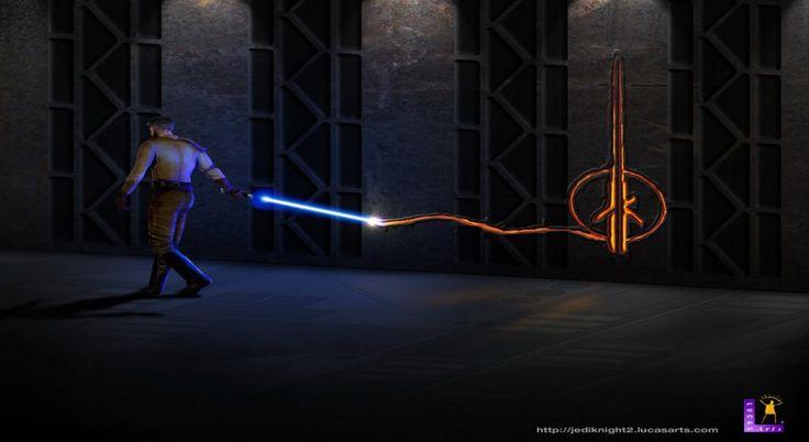 Jedi Knight II: Jedi Outcast VR with a Gamepad