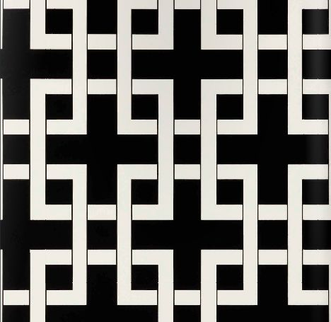 eurowalls black and white geometric from the couture collection!