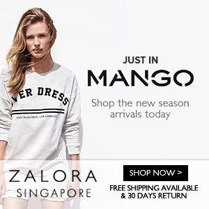 ZALORA SINGAPORE - JUST IN MANGO