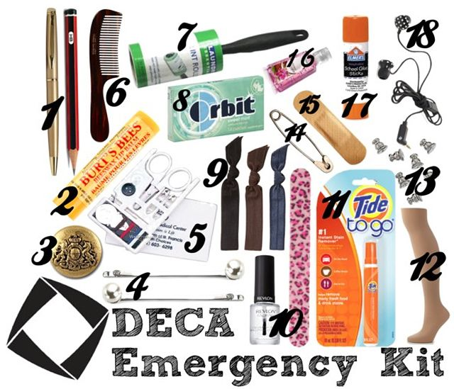 DECA Emergency Kit - DECA Direct - March 2013