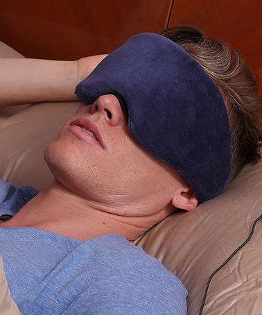 Blue Sleep Headphones Eye Mask #zulily #zulilyfinds