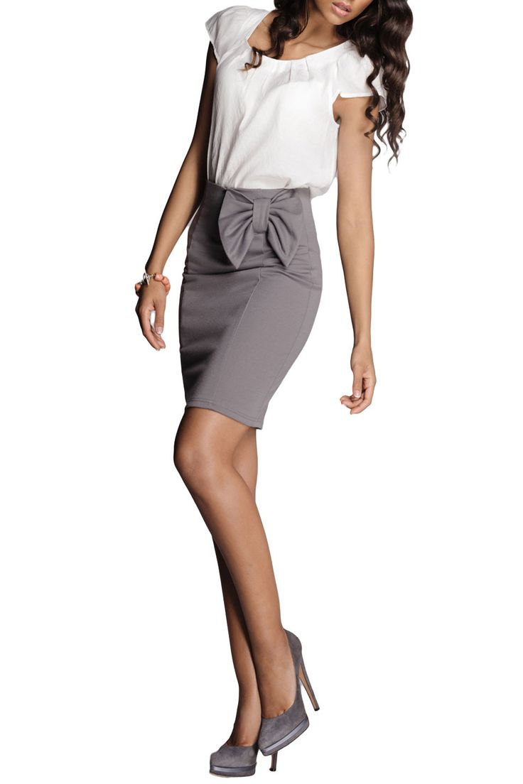 Figl - Amanda Skirt in Gray