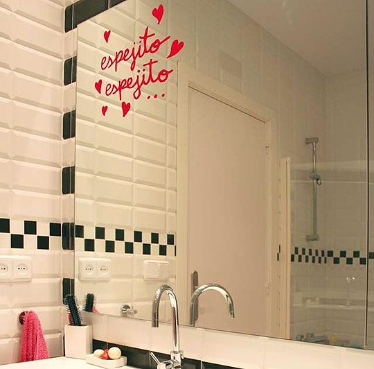 vinilos para baños