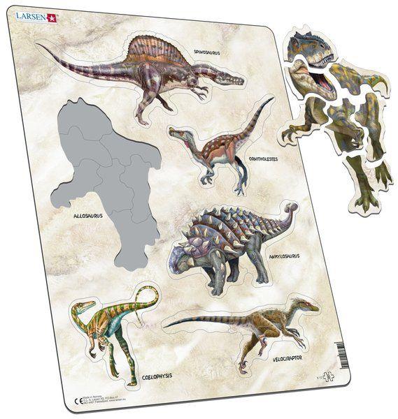 X12 - 6 dinosaurov