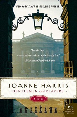 Gentlemen and Players: A Novel (P.S.) by Joanne Harris https://www.amazon.com/dp/0060559152/ref=cm_sw_r_pi_dp_x_geE5xbEYPQPTY