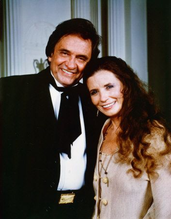 Johnny Cash and June Carter .  This is what true love looks like