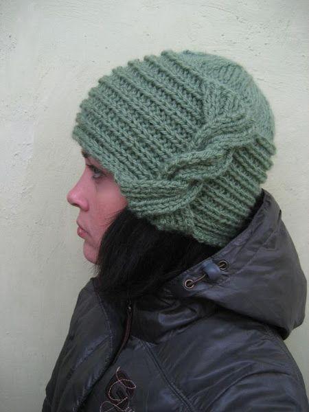 шапка с узелком