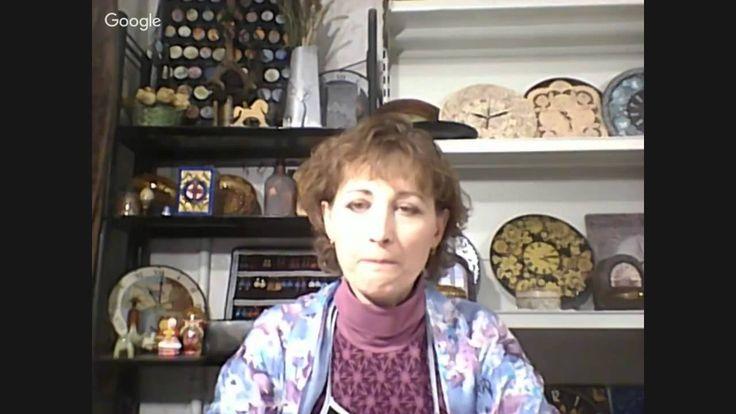 Татьяна Чимбирь. Часы из потолочной розетки