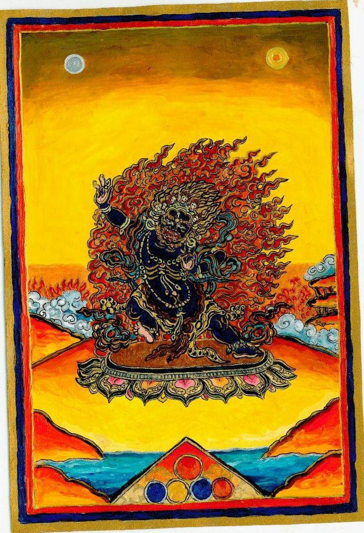 Vajrapani Dharma-protector, 2012 autumn