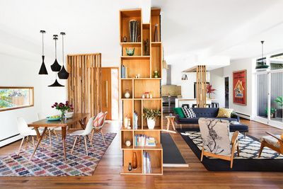 Stunning bright, fun living room. From the August 2014 issue of Inside Out magazine. Styling by Ruth Welsby and photography by Martina Gemmola. Via @homelifecomau.