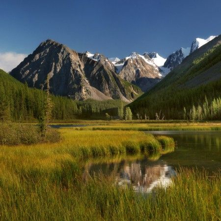 Russia, Altay. Mountains