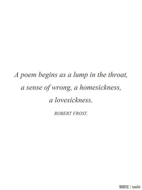 the characteristics of roberts frosts poems Find great deals on ebay for the poetry of robert frost shop with confidence.