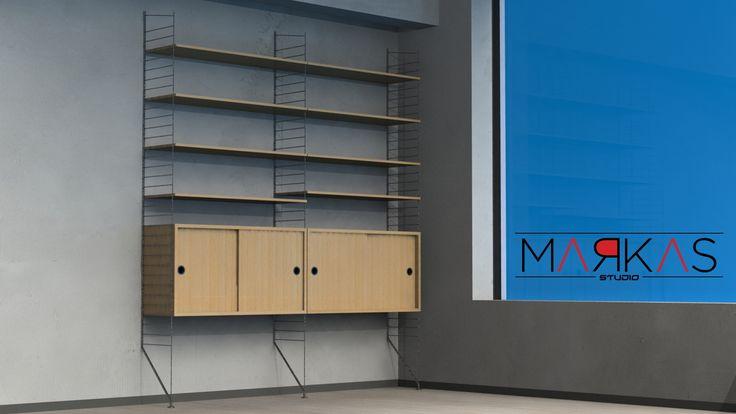 Structural Bookshelf