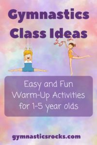 Fun and Easy Gymnastics Class Warm-Up Ideas for Young Kids