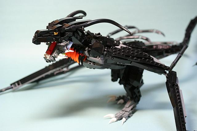 LEGO Dragon by Aurore
