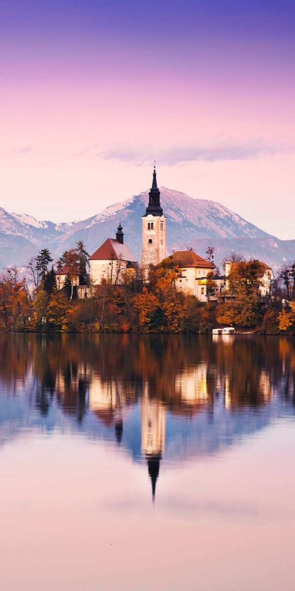 Bled, Slovenia Bled ranks among the most beautiful alpine resorts renowned for its mild, healing climate and thermal lake water and is famous all around the world for its beauty and picturesque views. The fresh air around Bled gives you the divine pleasure of relaxation with the serenity of being cut off from the noisy and busy metro life