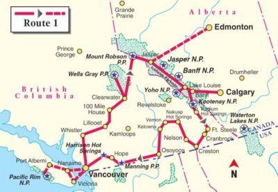 Routenvorschlag Kanada mit dem Wohnmobil