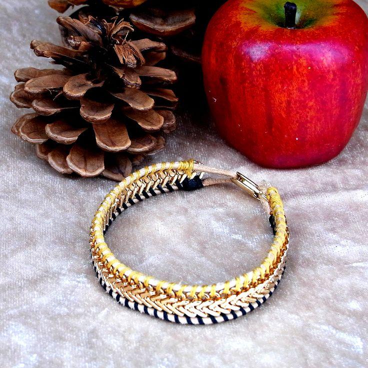 <2266:Helena Rohner bracelet HONEY>