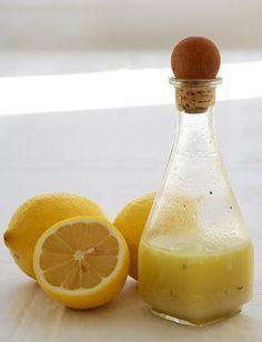 Zitronen-Salatdressing
