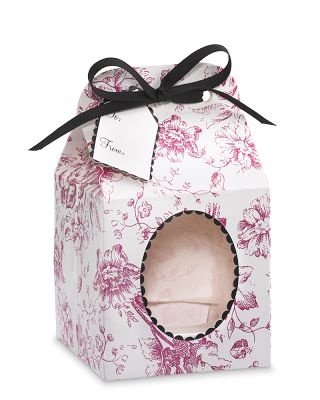 Toile cupcake gift box!