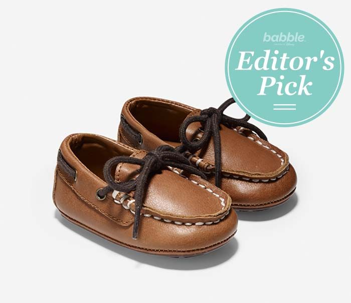 How cute are these driving shoes!? @ColeHaan is making us real jealous of our kids' style with these baby moccasins. #BabbleEditorPicks