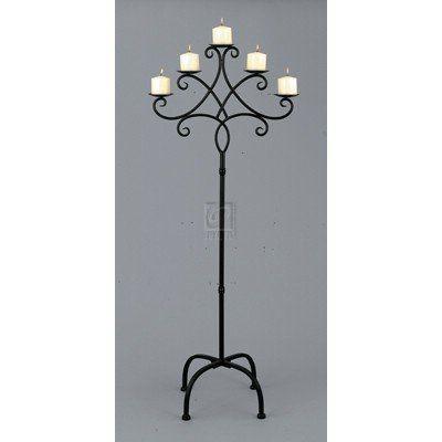 Cheap Floor Candelabra only $54.99 ~~~~  #wedding #centerpiece, home decor or gift idea.  ~~~~ www.CandelabraCenterpieces.info