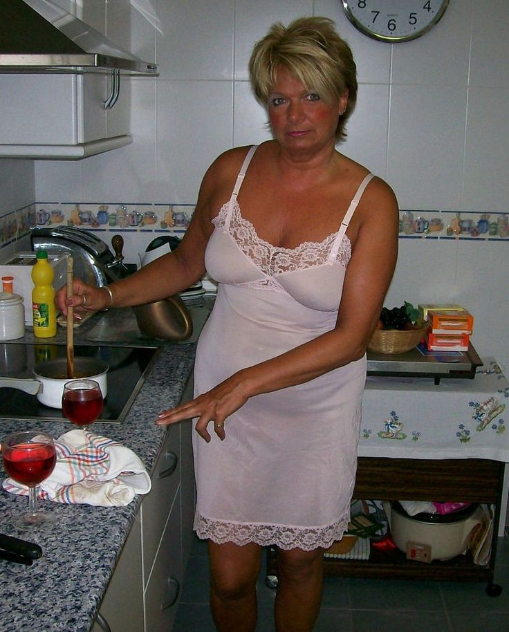 Mature old granny panty