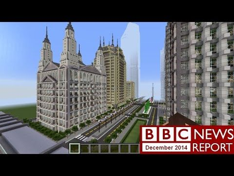 BBC News Report Dec 2014 with transcript video - Girl power in Ghana's schools; Swiss children used as slave labour; Minecraft player builds virtual city