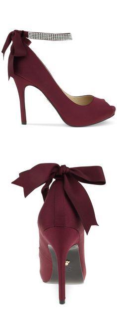garnet heel , bridesmaid shoes http://fave.co/2dj7J7E